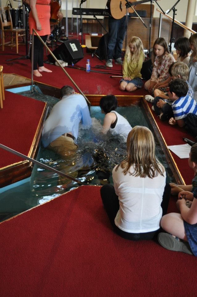 My Baptism - Sunday 12th August 2012