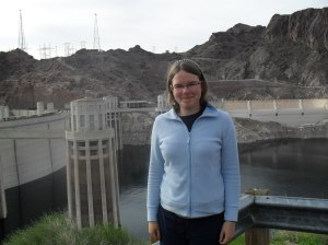 At the Hoover Dam.