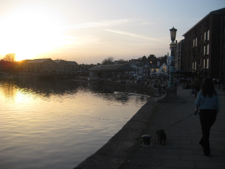 A walk to the Quay in Exeter.