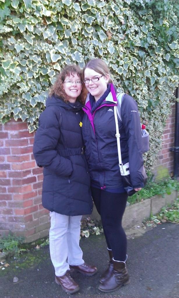 Me with my wonderful Mum :)