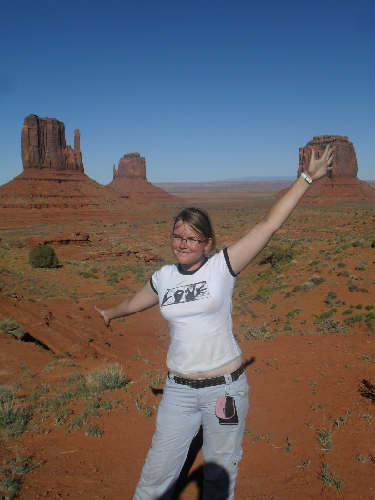 Monument Valley - Utah. Got to hang out with some Navajo's as well. It was wonderful.