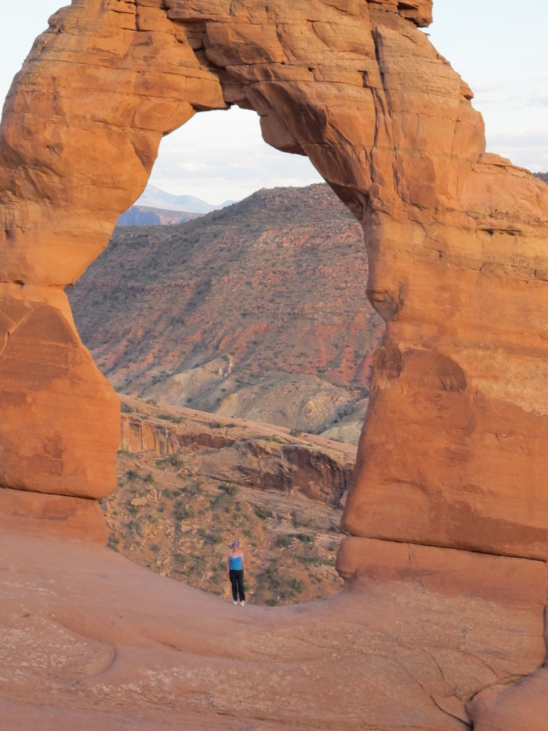 Arches National Park. Size comparison...