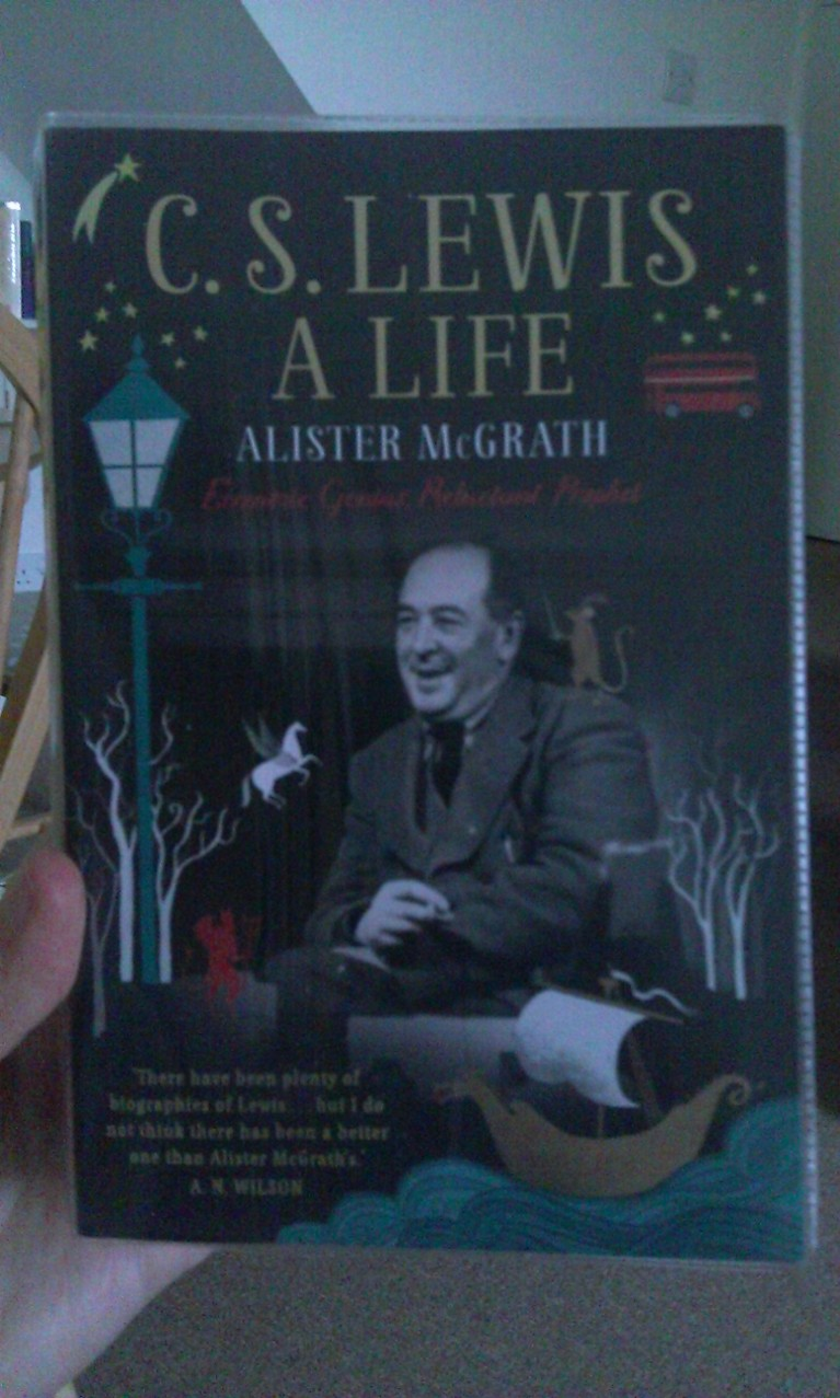 A really great biography on C.S. Lewis by Alister McGrath.